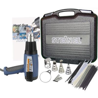 Steinel & STEINEL & #174 Professional Heat Gun Multi-Purpose Kit with HG2310LCD Programmable IntelliTemp Heat Gun with LCD Display in Case