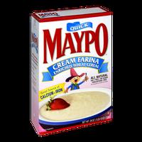 Maypo Quick Cream Farina Wheat Cereal