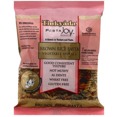 Generic Tinkyada Brown Rice Vegetable Spirals Pasta, 12 oz, (Pack of 3)