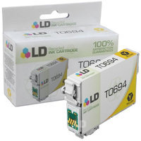 LD Remanufactured Replacement for Epson T069420 (T0694) Yellow Ink Cartridge for use in Epson Stylus and Workforce Printers
