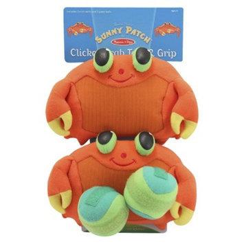 Melissa & Doug Clicker Crab Toss & Grip
