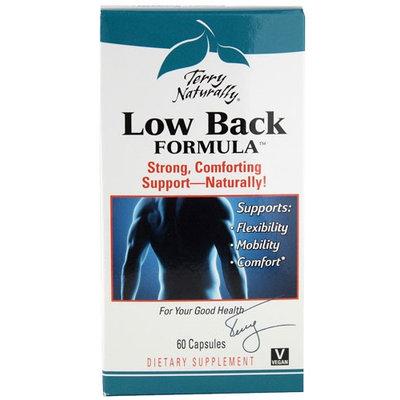 Terry Naturally Low Back Formula 60 Capsules - Vegan