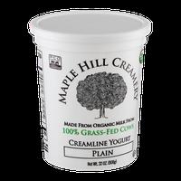 Maple Hill Creamery Creamline Yogurt, 100% Grass-Fed, Organic, Plain