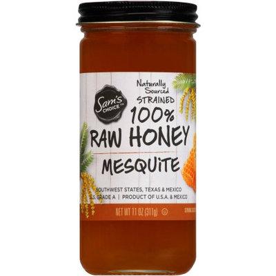Sam's Choice Mesquite 100% Raw Honey, 11 oz
