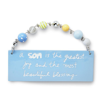 C.r. Gibson Company C.R. GIBSON COMPANY Infant Boy's Inspirational Quote Plaque - C.R. GIBSON COMPANY