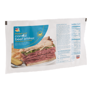 Ahold Point Cut Corned Beef Brisket