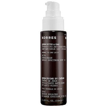 KORRES Quercetin & Oak Antiageing & Antiwrinkle Day Cream Broad Spectrum SPF 15, 1.69 fl oz