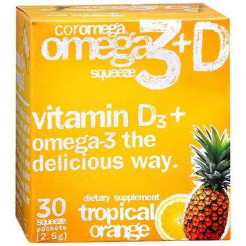 Coromega Omega 3+D Squeeze