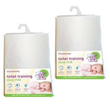 Clevamama Toilet Training Bed Mat, 2 Pk, 1 ea