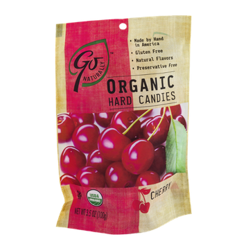 Go Naturally Organic Hard Candies Cherry