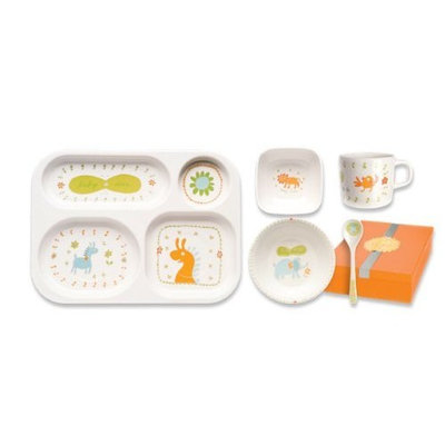 Maglite Bubu Baby Deluxe Meal Time Set with Gift Box