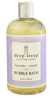 Deep Steep Bubble Bath Lavender Vanilla 17 fl oz