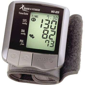 Mark of Fitness WS-820 Wrist Blood Pressure Monitor