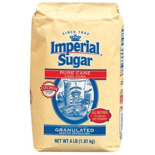 Imperial: Pure Cane Extra Fine Granulated Sugar, 4 Lb