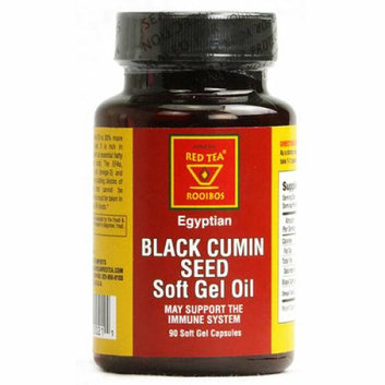 African Red Tea Imports Egyptian Black Cumin Seed 90 Softgel Capsules