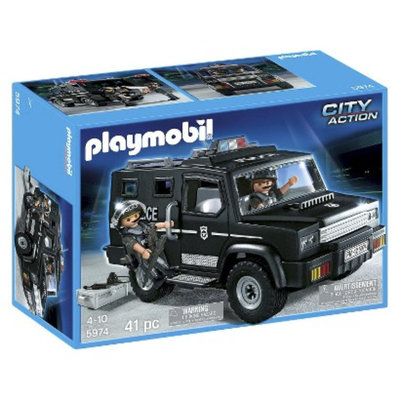Playmobil Tactical Unit Vehicle