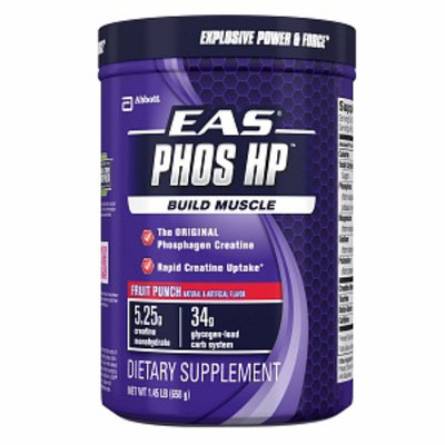 EAS Phos HP Creatine Powder, Fruit Punch, 1.45 lbs
