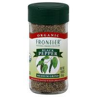 Black Pepper Medium Grind Organic - 1.8 oz,(Frontier)