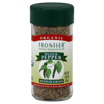 Black Pepper Medium Grind Organic - 1.8 oz,(Frontier)
