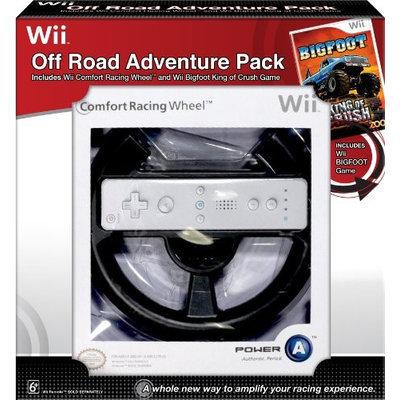 Bigfoot King of Crush and Comfort Racing Wheel Bundle for Nintendo Wii