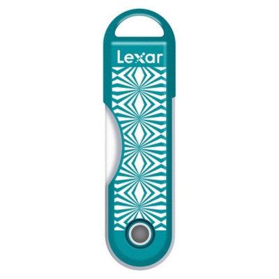 Lexar 16GB Kaleidescope USB Flash Drive - Green (JDTTK16BTR)