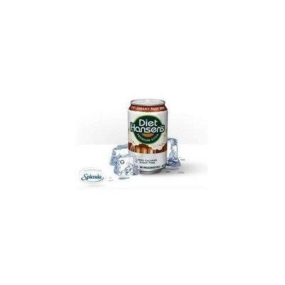 Hansen's Diet Root Beer Soda (3x8x12 Oz)