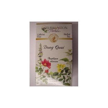 ORGANIC CONNECTIONS,LTD Celebration Herbals Organic Dong Quai Tea Caffeine Free -- 24 Herbal Tea Bags