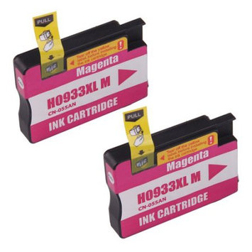 Discountbatt Superb Choice? Remanufactured ink Cartridge for HP 933XL(Magenta) - Pack of 2