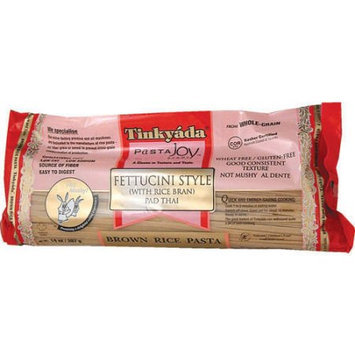 Tinkyada Fettuccini Brown Rice Wheat Free Pasta, 14 Ounce (Pack of 6)