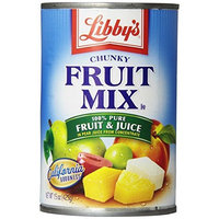 Libbys Libby's Fruit Mix -chunky In Pear juices Concentrate, 15-Ounce Cans (Pack of 12)