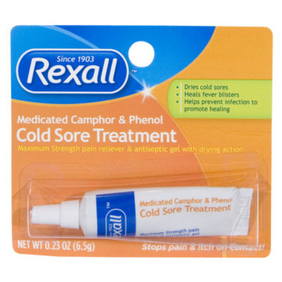 Rexall Cold Sore Treatment, 0.23 oz