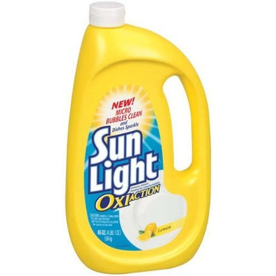 Sunlight Ultimate Dish Gel Lemon - 6 Pack