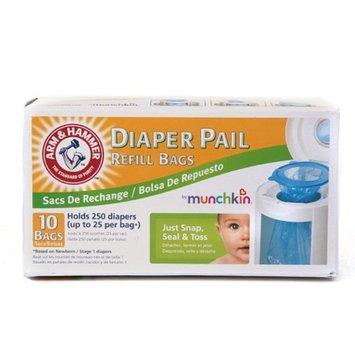 Munchkin Inc. Arm & Hammer Diaper Pail by Munchkin Refill Bags - 10ct