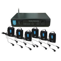 Hamilton ALS-600 Electronics VHF Assistive Listening System plus Accessory Kit