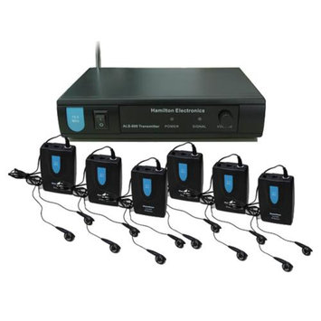 Hamilton ALS-600 Electronics VHF Assistive Listening System plus Accessory Kit