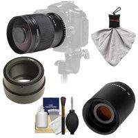 Samyang 500mm f/8.0 Mirror Lens with 2x Teleconverter (=1000mm) for Sony Alpha NEX-C3, NEX-F3, NEX-5, NEX-5N, NEX-7 Digital Cameras