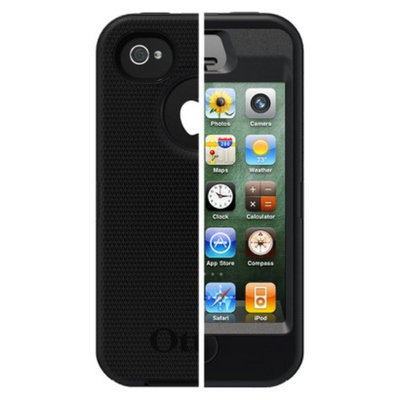 Otterbox Defender Cell Phone Case for iPhone4/4S - Black (77-18581P1)