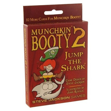 Munchkin MUNCHKIN Booty 2 Jump the Shark Revised Edition Pirate Themed Game