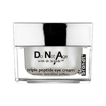 dr. Brandt do not age with dr. brandt triple peptide eye cream, .5 oz