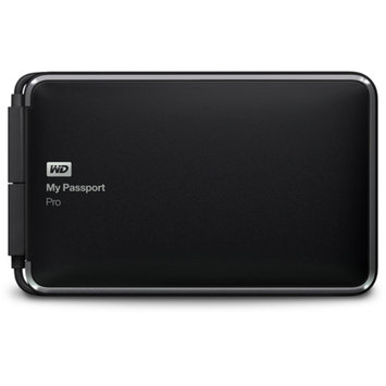 WD My Passport Pro 2TB Portable RAID Storage with Integrated Thunderbolt Cable