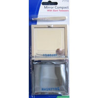 LaCross Mirror Compact With Slant Tweezers (Sally Hansen)