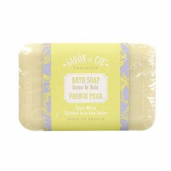 Savon Et Cie Bar Soap French Pear 7 oz