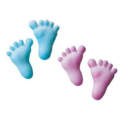 Luck's Lucks Dec-Ons Baby Feet, 100 pk