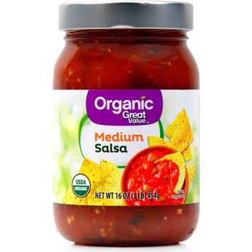 Teasdale Foods Great Value Organic Salsa Medium