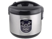Tayama 8-Cup Digital Rice Cooker and Food Steamer