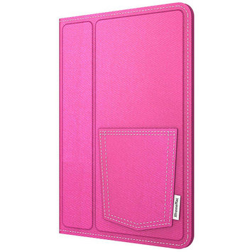 XtremeMac 270849 XtremeMac Microfolio Case for iPad Mini, Pink Denim