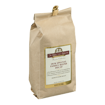Di Bruno Bros. Our Special Family Blend Decaf Coffee Beans Medium Dark Roast