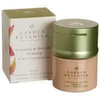 Garden Botanika Conceal & Reveal Firming 2 In-1 Foundation, Bisque, 0.85-Ounce Boxes