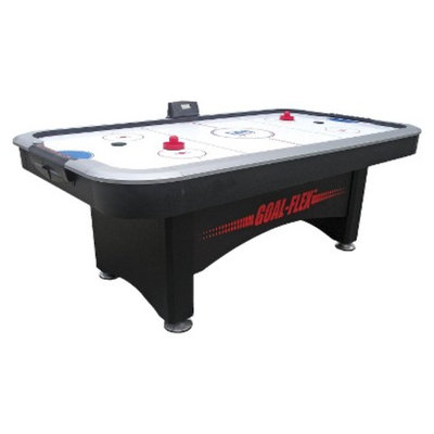 DMI Sports Goal Flex Air Hockey Table - Black/Silver ( 7 ft)