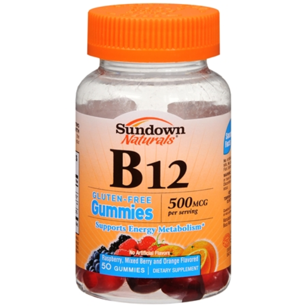 Sundown Naturals Sundown Natural B12 500 mcg Gummies - 50 Count